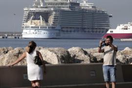El 'Allure of the Seas', el crucero más grande del mundo, llega a Palma