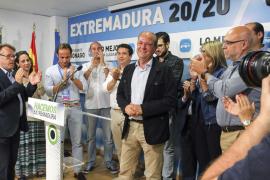 Monago planteará ante el PP un pacto estatal de gobernabilidad con el PSOE