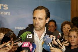 José Ramón Bauzá dejará la presidencia del PP balear a final de verano