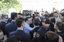 El primer ministro chino visita Valldemossa, que ha sido cerrado para recibirlo