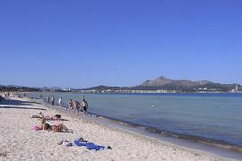 La playa de Alcúdia,  en el 'top ten' de las playas familiares