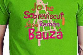 Camiseta verde dedicada a Bauzá