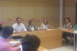 El PSIB de Palma presenta sus diez propuestas fundamentales en la negociación de un posible pacto
