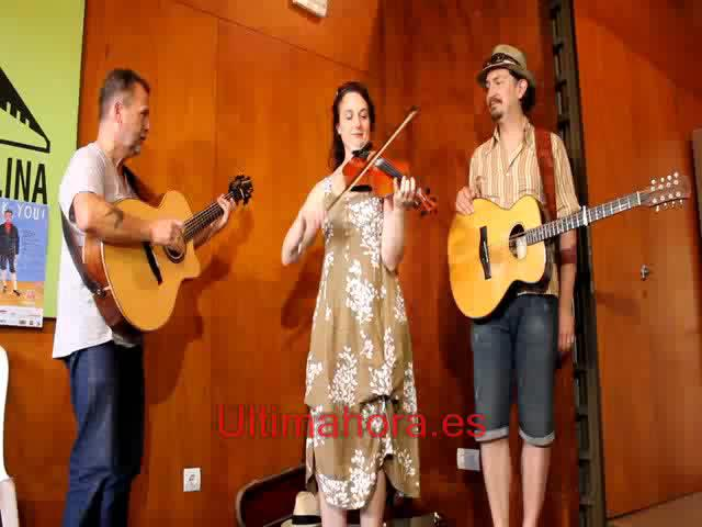 Martin Simpson, Nancy Kerr & James Fagan, en el Folk you!