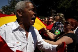 Manifestación contra Podemos