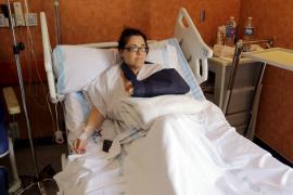 La policía imputa al dueño del pit bull que destrozó la mano a una mujer en sa Pobla