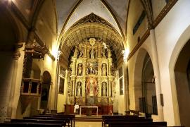 La iglesia de Sant Jeroni sigue el camino de degradación del convento