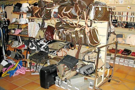 Condenado un comerciante chino de Palma que tenía 22.000 productos falsos