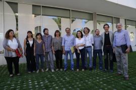 Reunión PSOB-PSOE, Podemos y MÉS