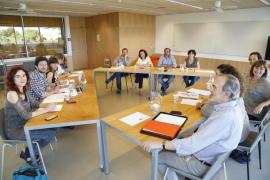 Reunión de MÉS, PSIB y Podemos