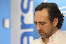 Bauzá vive su último calvario como presidente del PP