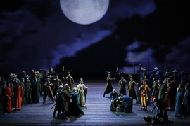 Proyección de la ópera 'Turandot'