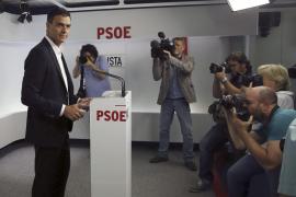 Pedro Sánchez presenta su candidatura oficial a las primarias del PSOE