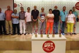 UGT premia la labor sindical con las 'Menciones del Primero de Mayo'