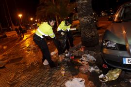 Calvo pretende cerrar zonas del Passeig Marítim para evitar el 'botellón' este verano