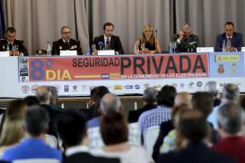Bauza preside la celebración del Día de la seguridad privada de Balears