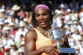 Serena Williams levanta su tercer Roland Garros