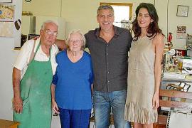 Los Clooney sorprenden con su visita a Augusta