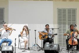 Donallop factura su primer álbum en directo en el Museu de Mallorca