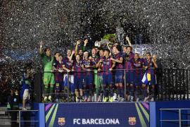 El Barça hace historia y logra por segunda vez la triple corona