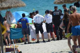 Muere ahogado un hombre en Peguera
