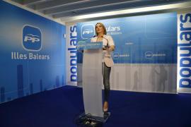 El PP pide a Podemos que asuma «la bofetada de realidad  y se moje»