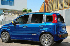 El nuevo Fiat Panda K-Way ha desfilado en Milán