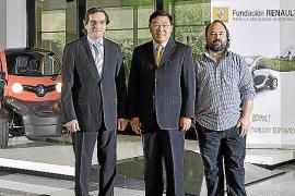 La Fundación Renault hizo entrega de un Twizy