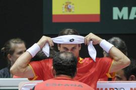 Las derrotas de Verdasco y Ferrer dejan a España al borde del abismo