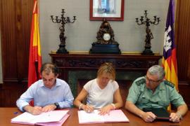 Delegación del Gobierno y Llucmajor rubrican la implantación del Servicio de Atención al Turista en el municipio