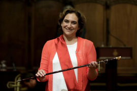 Ada Colau se convierte en alcaldesa de Barcelona
