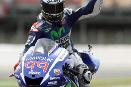 Lorenzo: «La moto está a punto; mañana estoy a punto para luchar»