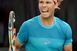 Nadal: «Estoy disfrutando de nuevo del tenis»