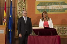 Díaz promete diálogo en la toma de posesión a la que no asisten los líderes de la oposición