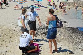 La unidad de la policía de playas de Capdepera aumenta la vigilancia