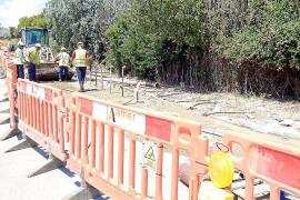 Decretada la paralización de las obras de cable en Alcúdia por exceso de ruidos y vibraciones