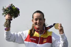La tiradora Fátima Gálvez da a España su tercer oro en Bakú
