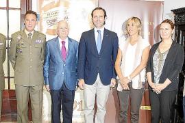 Presentación de la obra 'La defensa de Mallorca, XXV siglos de historia militar'