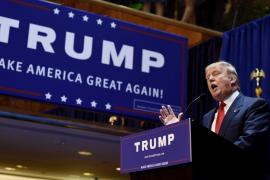 Donald Trump abre su carrera política atacando a la inmigración mexicana