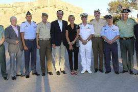 Concierto del Día de las Fuerzas Armadas en el Castillo de San Carlos