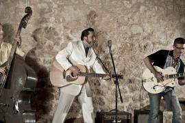 Biel Alimanya & The Folsom Rockers en un homenaje al rock'n'roll