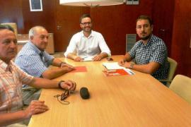 Hila y Comas se reúnen con la Federación de Vecinos de Palma