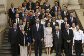 El Rey celebra su aniversario con quienes hacen de España «una gran nación»