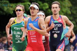 Mario Mola persigue su segundo Garmin Barcelona Triatlón