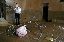 Los 'Desnudos' efímeros de Mario Suardiaz se iluminan en el palacio de Can Vivot