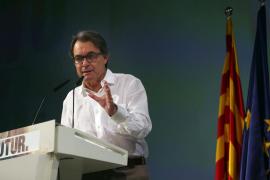 Artur Mas pide la «máxima unidad posible» en el mundo soberanista de cara al 27S