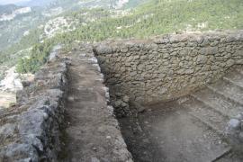 Finalizan las obras de urgencia de la rehabilitación del Castell d'Alaró