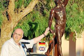 Una escultura de Jaume Mir recuerda a los que lucharon en Calonge contra Felipe V