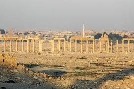 El Estado Islámico siembra explosivos en la ciudad monumental de Palmira