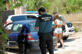 Fiesta ilegal en el Camí vell de Costitx